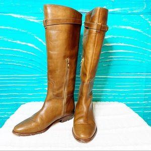 Coach Shoes - Coach Laguna Riding Boot Brown size 8.5B